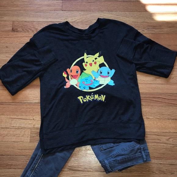 Pokemon Tops - 4/$25 Pokémon Long Sleeve T-Shirt